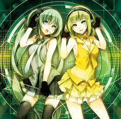 Gumi and Miku!