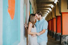 Memphis Wedding Photographer Whit Photography | Downtown Memphis Engagement Session