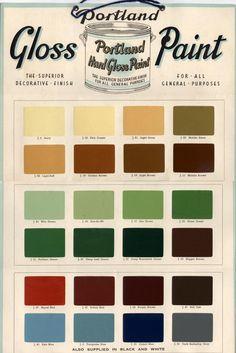 Bristol Paint Colour Chart