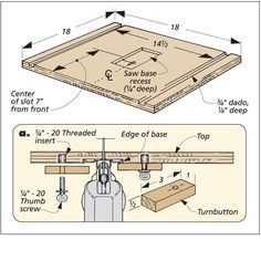 Jig Saw Table | Woodsmith Tips