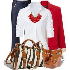 A fashion look from April 2013 featuring Steffen Schraut blouses, Topshop blazers y Gerard Darel jeans. Browse and shop related looks.