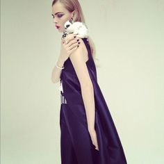 cara delevingne photographed by nick knight for SHOWstudio using instagram