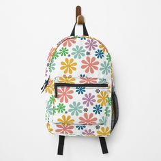 Weird Holidays, Fashion Room, Meaningful Gifts, Daisies, Top Artists, Vintage Designs, Fashion Backpack, Traveling By Yourself, Print Design
