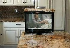 kitchen islands with tv - Bing Images