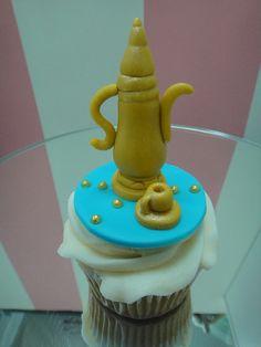 Decorated cupcake for Ramadan