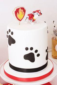 Pastel de la Patrulla Canina. Ideal para una fiesta temática.#Pawpatrol #pastel