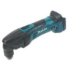 Makita DTM50Z 18V Li-Ion LXT Cordless Multi-Tool - Bare | Multi Tools | Screwfix.com Led Work Light, Work Lights, Laying Laminate Flooring, Makita Tools, Easy Date, Sanding Wood, Hex Wrench, Hex Key, Outdoor Power Equipment