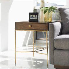 Crestaire - Oscar End Table in Porter - 436-15-09 - Stanley Furniture - living room - modern furniture