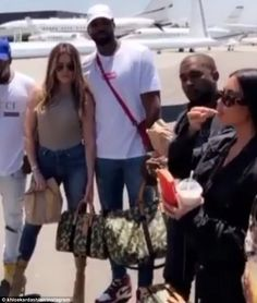 Black #Cosmopolitan Kim Kardashian and Kanye West indulge in fast food   #AmericanChristians, #FastFood, #FoodAndDrink, #KanyeWest, #Kardashian, #KeepingUpWithTheKardashians, #KIMKARDASHIAN, #SnackFoods         Khloe Kardashian shared two Snapchat clips on Monday that looked to have not much going on. The 33-year-old beauty is scanning the tarmac where beau Tristan Thompson poses in front of a private jet and Kim Kardashian as well as Kanye West stand next to a luxury veh