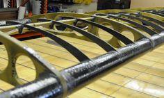 We Be James & Belite Aircraft: Ultralight Aircraft/Avionics; FAR Part 103: Building a Carbon Fiber Wing with Aluminum Ribs - Part 1