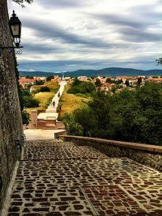 Raised Path to Calvary, Veszprém Hungary Hungary History, Homeland, Budapest, Austria, Paths, The Past, Traveling, Journey, Europe