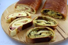 Pan brioche farcito Dory, Italian Recipes, Buffet, Bread, Cooking, Healthy, Pizza, Crafts, Fantasy
