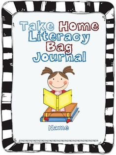 This is a journal created for monthly take home literacy bags. Each month has a theme already planned out. The journal also included a blank page f...