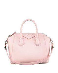 91833881a84a Givenchy Antigona Small Sugar Goatskin Satchel Bag in Light Pink