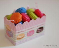 Macarons - Sabonetes Artesanais da Shiboneteria