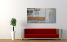André Pillay - paintings and digital art prints: Art - Abstract Painting in Modern Interior  #art  #paintings
