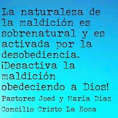 La naturaleza de la maldición es sobrenatural y es activada por la desobediencia. ¡Desactiva la maldición obedeciendo a Dios!