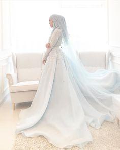 hijab style #weddingdress #hijabstyle #muslim #beautifuldress