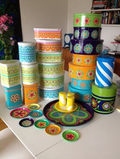 Retro Tin Canister Collection by IRA