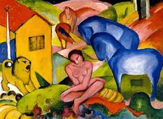 Franz Marc, um mestre expressionista das cores e dos animais http://designmuitomais.blogspot.com.br/2015/02/franz-marc-um-artista-expressionista-um.html