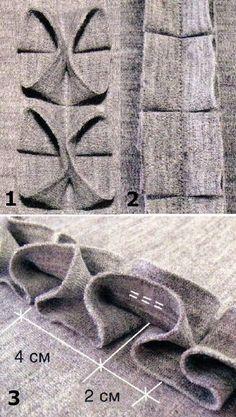DIY fabric manipulation