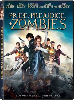 For Jane Austen fans, here's a listing of miniseries and film adaptations of Pride and Prejudice, from 1940 through Which is your favorite? Pride And Prejudice And Zombies, Jane Austen, New Movies, Movies And Tv Shows, 2017 Movies, Sam Riley, Charles Dance, Film Streaming Vf, Pride And Prejudice