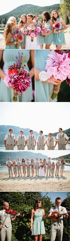 pretty flowers, great colors and love the beach shot Hrubec Hrubec Schmeltzer Schmeltzer Schmeltzer Carlson Perfect Wedding, Dream Wedding, Wedding Day, Wedding Dress, Wedding Stuff, Wedding Wishes, Wedding Bells, Bridesmaids And Groomsmen, Bridesmaid Dresses
