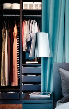 small spaces:  Your walk-through closet