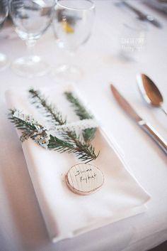Mariage hiver nom invité