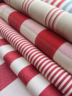 Collection: Co - Ordinated.  Fabrics:  Henley stripe cream/peony,   Avon check…