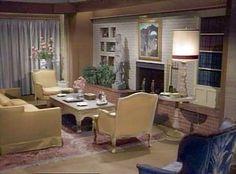 1164 Morning Glory Circle: The 1164 Studio Set: Living Room Vintage Tv, Vintage Decor, Vintage Homes, Vintage Soul, Bewitched Tv Show, Mid-century Modern, Modern Design, Modern Decor, Bewitched Elizabeth Montgomery