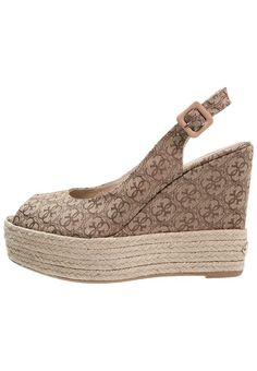 #Guess #NURAL #High #Heel #Peeptoe #beige/brown für #Damen -