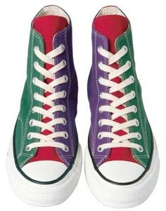 Converse all star addict - Remind me of bowling shoes