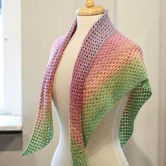 Bildresultat för virkad sjal
