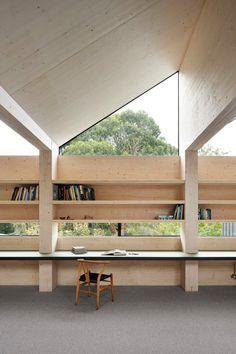 Australian Interior Design, Interior Design Awards, Australian Architecture, Australian Homes, Architecture Design, Sustainable Building Materials, Sustainable Architecture, Timber Structure, The Design Files