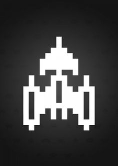 Stunning artworks from Space Invaders collection. Check out 12 posters in the collection. Our Displate metal prints will make your walls awesome. Space Invaders, Videogames, Minimalist, Characters, Posters, Ship, Medium, Metal, Classic