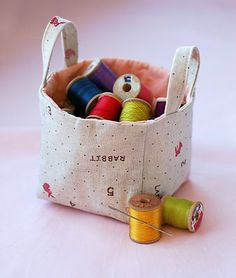 sewing basket...#sewing #fabric
