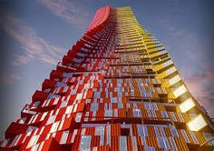 Image 2 of 6 from gallery of Opinion: What's Wrong With Shipping Container Housing? CRG Architects' proposal for a shipping container skyscraper in Mumbai (click image for project post). Container Architecture, A As Architecture, Container Buildings, Used Shipping Containers, Shipping Container Homes, Mumbai, Temporary Housing, Casas Containers, Cargo Container