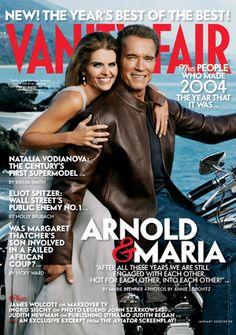 Annie Leibovitz Iconic Works ... January 2005  Arnold Schwarzenegger and Maria Shriver