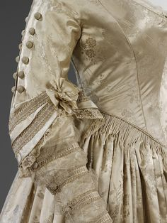 Wedding dress, 1841