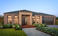 The Santorini Home - Browse Customisation Options New Home Designs, Facade House, Santorini, Melbourne, Building A House, Home Goods, New Homes, House Design, Interiors