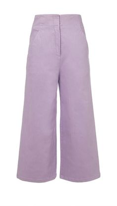 Garment Dyed Twill Cropped Wide-Leg Jean #silhouette#adds#wide