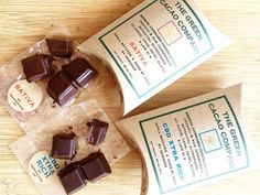 The Green Cacao Company Chocolates are a healthy option for your sweet tooth! #edibles #cannabiscommunity