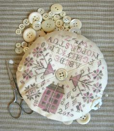 Summer House Pincushion (Blackbird Designs)
