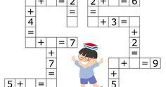 Coloring Pages, Education, Learning: Math Activities Preschool Printables Kindergarten Math Activities For Toddlers, Kindergarten Math Activities, Math Literacy, Preschool Printables, Math For Kids, Preschool Activities, Lucas Gabriel, Rainbow Fish, School Children