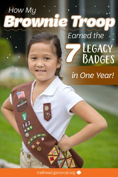 earning all their Daisy petals (and two financial literacy leaves) in one year, this troop of newly-minted Brownies set their sights on the 7 Brownie badges in the Legacy tier—and earned them all!Here's how they did it so your troop can get there too! Scout Mom, Girl Scout Swap, Girl Scout Leader, Daisy Girl Scouts, Girl Scout Troop, Cub Scouts, Girl Scout Brownie Badges, Brownie Girl Scouts, Girl Scout Cookies