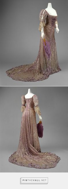 Evening dress by Henriette Favre 1902 French | The Metropolitan Museum of Art