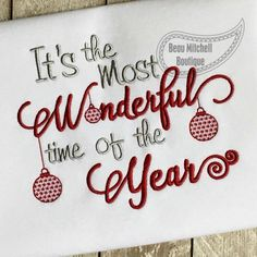 It's the most Wonderful time of year - Beau Mitchell Boutique
