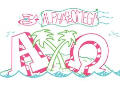 Alpha Chi Island theme - Love! | Bows, Pearls & Sorority Girls
