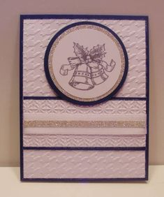 FMS12, SUO, Silver Bells and Navy by eured99 - Cards and Paper Crafts at Splitcoaststampers